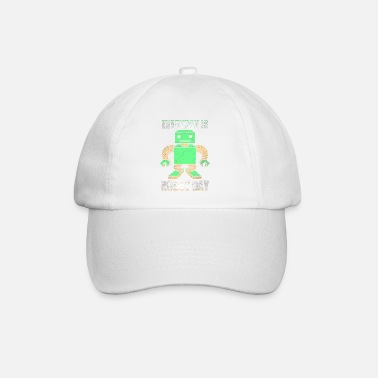 Scientific Robot cyborg machine technology science - Baseball Cap