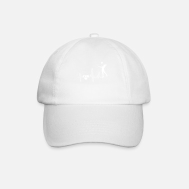 Beach Volley Beach-volley Beach-volley Heartbeat - Casquette baseball