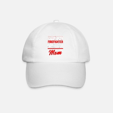 Firefighting Firefighters woman fire rescue heroine fire protection - Baseball Cap
