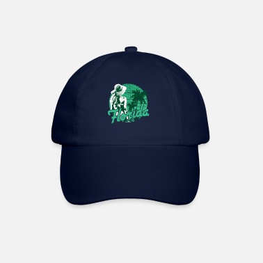 Floride Florida Beach Girl Green Paradise - Casquette baseball