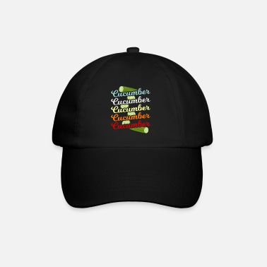 Cucumber Cucumber Green Vegetable Gift - Baseball Cap