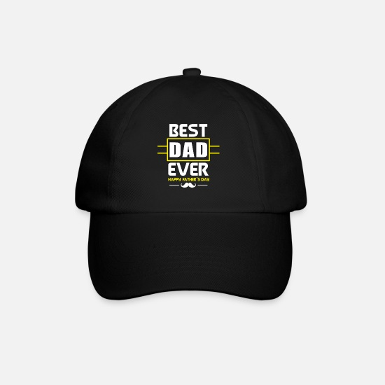 Best Dad Caps & Hats - Best Dad / Best Dad - Baseball Cap black/black