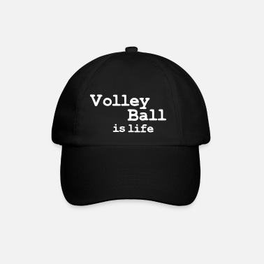 Beachvolley volleyball is life - Casquette classique