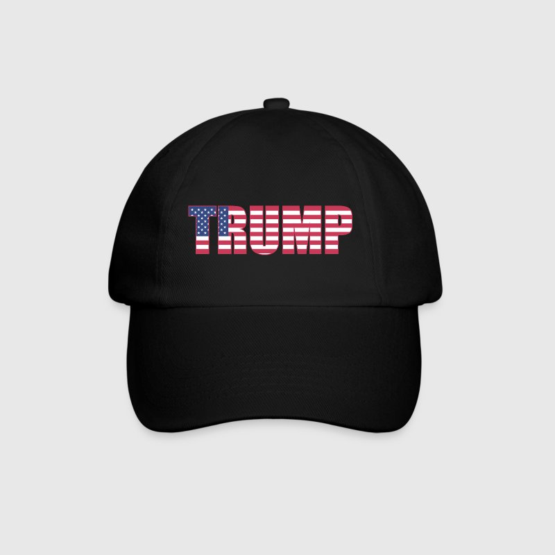 Trump - US Flag - Baseballkappe