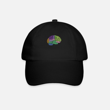 Region The regions of the brain - Baseball Cap