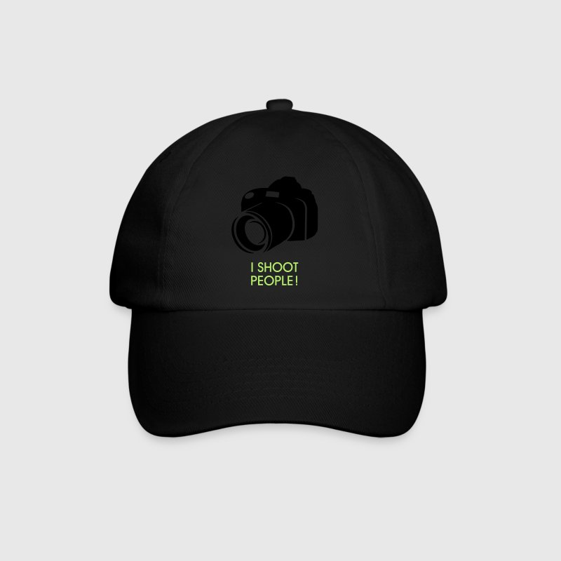 i shoot people - Baseballcap