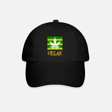 Funny Hemp Sayings Relax / Smoking / Cannabis / Hemp / Cannabis Leaf - Baseball Cap