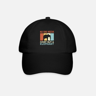 Keeper Elephant animal keeper - Baseball Cap