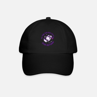 Occupy To The Galaxy Edge And Beyond Space Planets Rocket - Baseball Cap