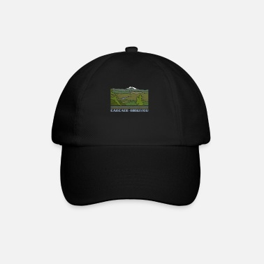 Silhouette Camicia Cascade – Siskiyou National Monument Nature So - Cappello con visiera