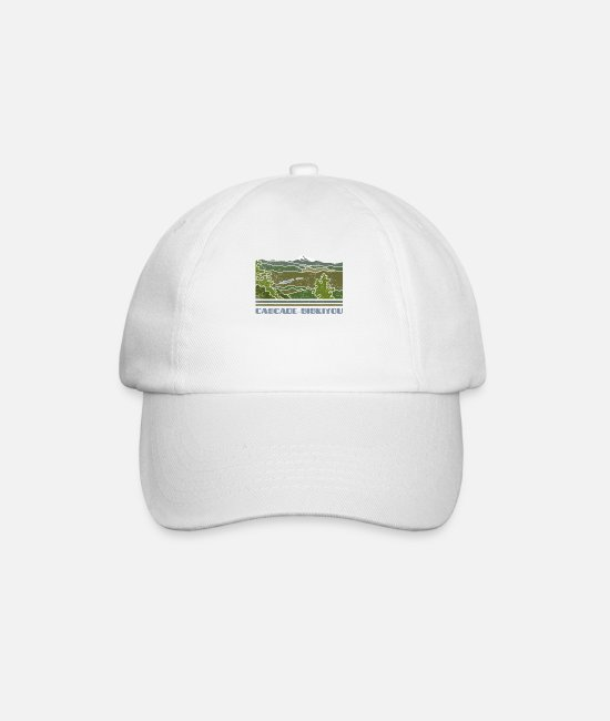 Nature Caps & Hats - Cascade–Siskiyou Shirt National Monument Nature So - Baseball Cap white/white