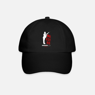 Composer Maestro Loading Conductor Orchestra Music Gift - Baseball Cap