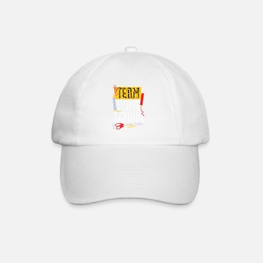 Terug Naar School Team Homeschool Quarantine Teacher - Baseball cap