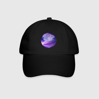 Blauer Planet cosmic galaxy by patjila - Baseballkappe