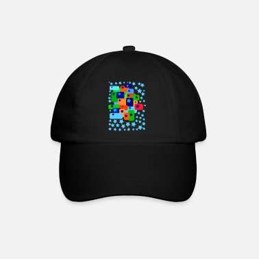 Graphic Art graphic art star - Baseball Cap