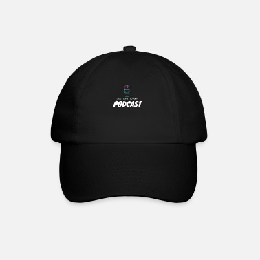 Audio podcast, radio, cadeau-idee, podcaster, microfoon - Baseball cap