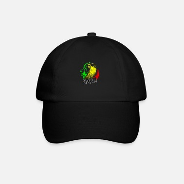 Rasta RASTA Lion Head - Baseball Cap