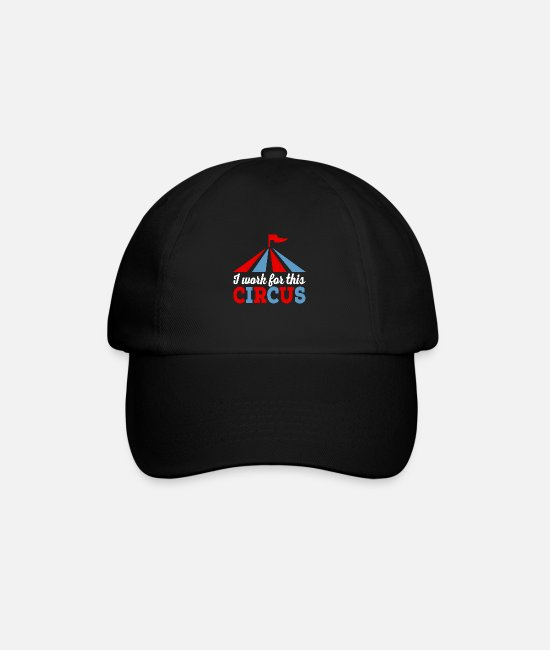 Chaos Caps & Hats - job - Baseball Cap black/black