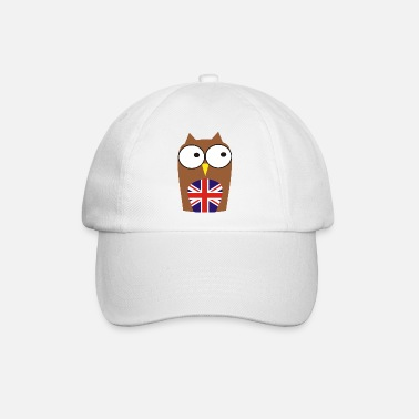 Team whoo are you - new! Owl & Union Jack - Baseball Cap