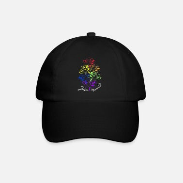 hochzeit heiraten rosen married gay pride - Baseball Cap