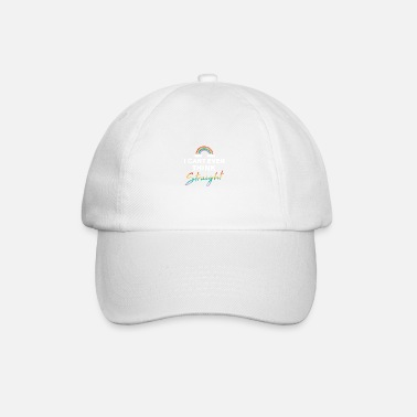 I Love Sex I Cant Even Think Straight Gay Pride LGBT For - Baseball Cap