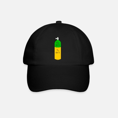 Diving Nitrox Tauchflasche - Baseball Cap