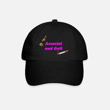 Association Associal and horny - Baseball Cap