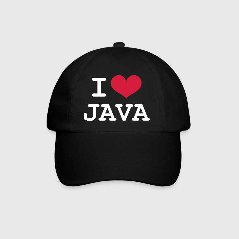 I Love Java [Developer / Geek] - Czapka z daszkiem
