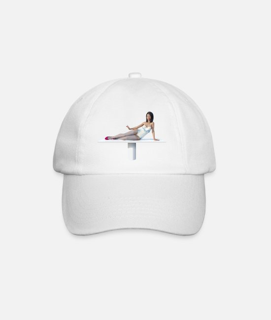 Art Caps & Hats - New Burlesque - Baseball Cap white/white
