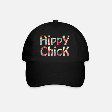 hippy chick - Baseball Cap