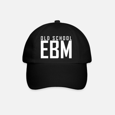 Old School Music Electronic Body Music Old School EBM - Baseball cap