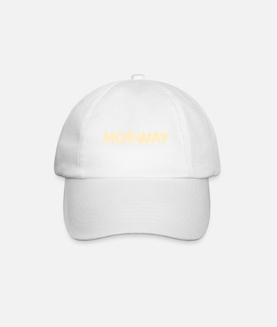 Mountains Caps & Hats - Norway - Baseball Cap white/white