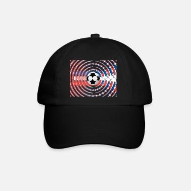Nazionale Di Calcio Calcio sui colori nazionali francesi - Cappello con  visiera d90a05cd5589