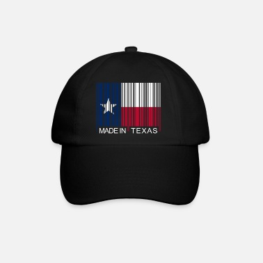 Texas Made in Texas Barcode - Casquette baseball