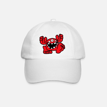 Proud To Be A Monster Cartoon by Cheerful Madness! - Baseball Cap
