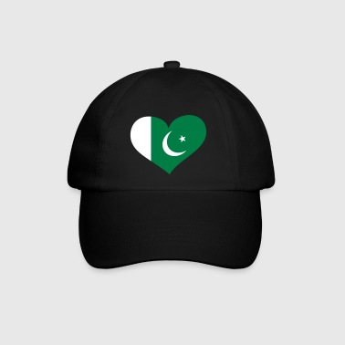 Pakistan Herz; Heart Pakistan - Baseball Cap