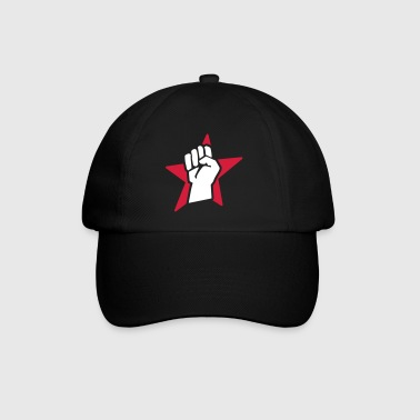 revolution fist (for black shirts) - Baseball Cap