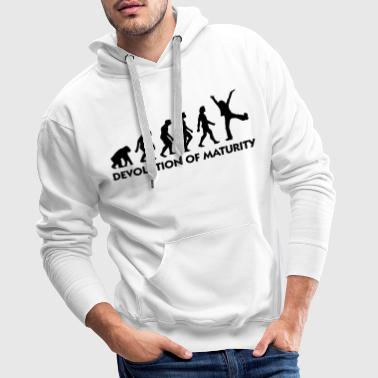 The Evolution of maturity - Men's Premium Hoodie