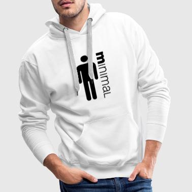 Minimum times man - Men's Premium Hoodie