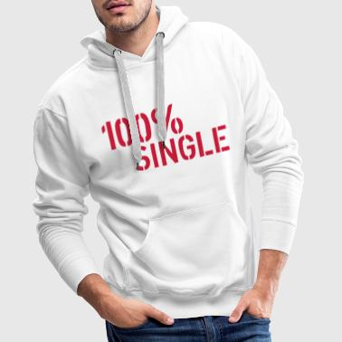 Single - Sweat-shirt à capuche Premium pour hommes
