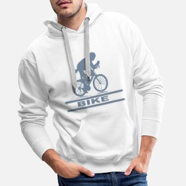 Bike bike - Sweat à capuche premium Homme