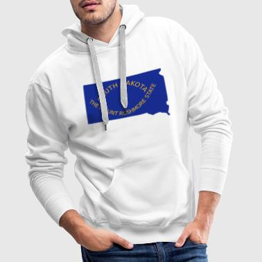 South Dakota - Men's Premium Hoodie