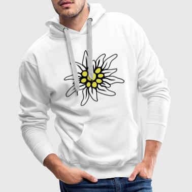 EDELWEISS BLOSSOM - Men's Premium Hoodie