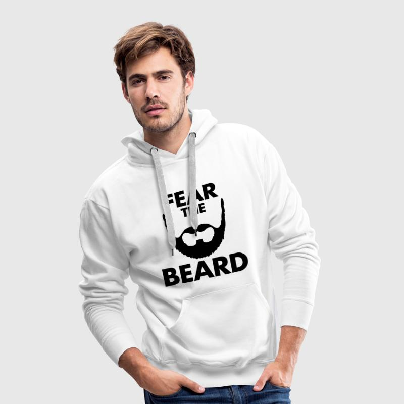 Fear The Beard - Mannen Premium hoodie