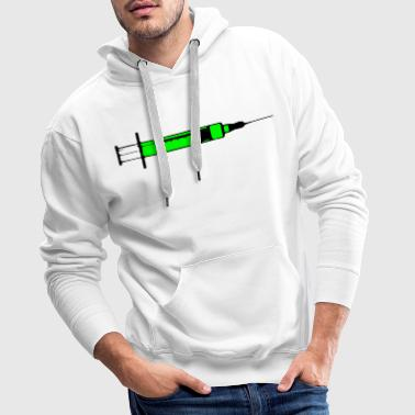 Seringue Injection létale Toxic 2c - Sweat-shirt à capuche Premium pour hommes