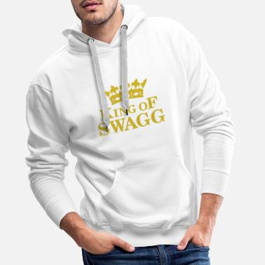 Swagg King of SWAGG - Men's Premium Hoodie