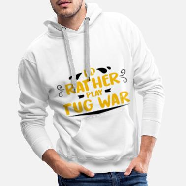 Tug tug of War - Men's Premium Hoodie