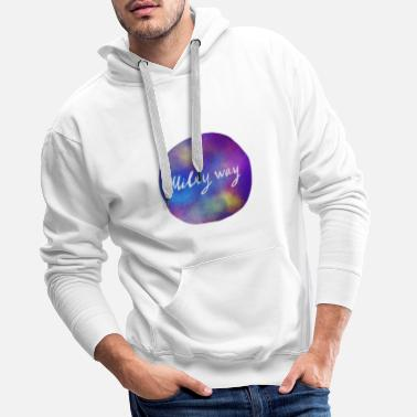Milky Way Milky way - Men's Premium Hoodie