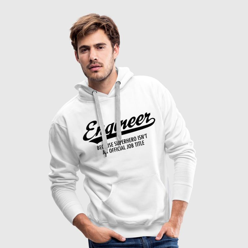 Engineer - Superhero - Men's Premium Hoodie