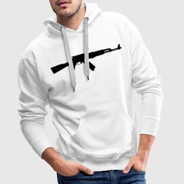 Assault Rifle AK-47 assault rifle - Men's Premium Hoodie